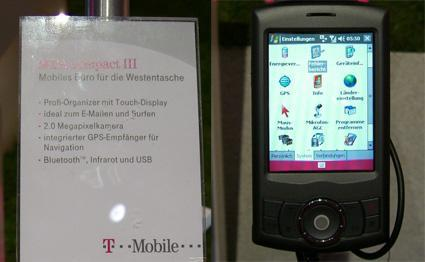 """HTC Artemis becomes """"MDA compact III"""" for T-Mobile Germany"""
