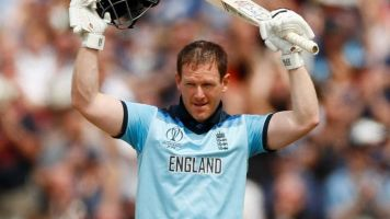Cricket World Cup 2019: Mark Wood 'astounded' by 'amazing' Eoin Morgan's batting masterclass
