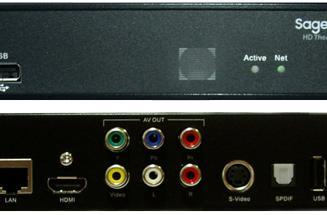 SageTV launches HD Theater (HD200) media streamer