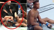 'What the hell': UFC ref slammed over 'atrocious' snapped arm furore