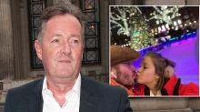 Piers Morgan labels David Beckham kissing daughter on the lips 'weird'