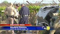 Madera County crash kills child, 6, on Highway 99