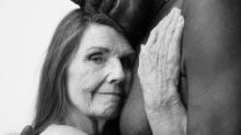 People Can't Stop Sharing This Beautiful Picture Of A Naked Elderly Couple