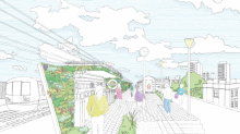Plans to link Camden and King's Cross with elevated park to rival New York High Line