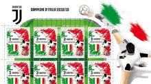 Poste Italiane, emesso un francobollo per la Juventus