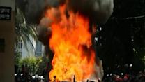 Film protesters clash with police in Bangladesh