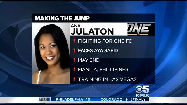 SF's Ana Julaton Discusses Switch From Boxing To MMA