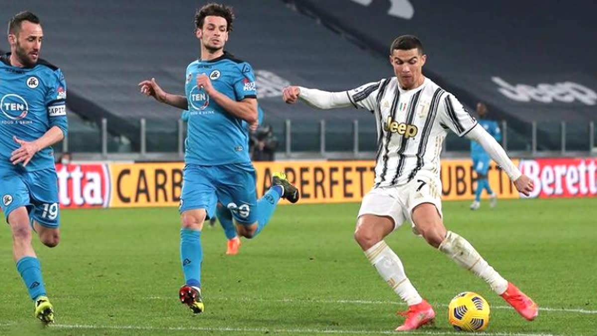 Juventus 3-0 Spezia, Serie A 2020-21 Goal Video Highlights: Cristiano  Ronaldo Scores in Comfortable Win