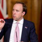 More than 100 coronavirus outbreaks a week across UK, Matt Hancock says