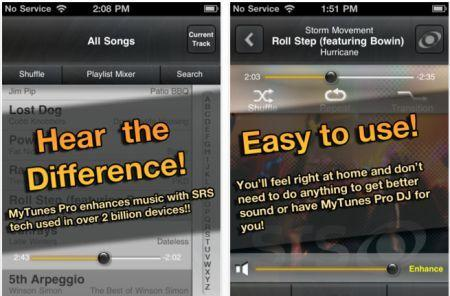 Daily iPhone App: MyTunes Pro makes your music sound better