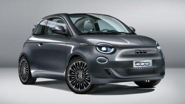 FIAT公布全新500 EV電動車完整資訊,最大續航力320公里力拼Mini Elecrtric和Honda e