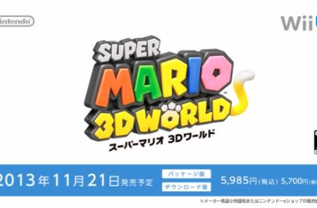 Super Mario 3D World scratches up Japan, Europe in late November [Update: Trailer!]