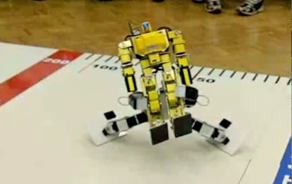 Video: Robo-One carnage shot at 300fps