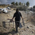 Shaky truce appears to take hold in Israel-Gaza fighting