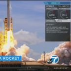 SpaceX launches communications satellite, recovers rocket for 2nd time