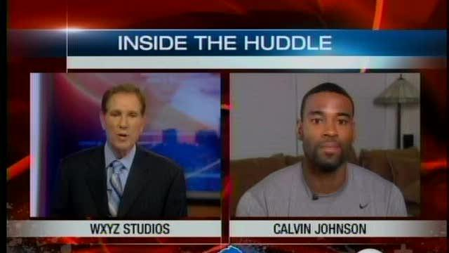 Inside the Huddle with Calvin Johnson - Atlanta