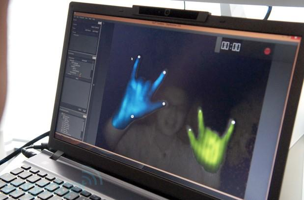 SoftKinetic teases embedded 3D depth camera, coming to Intel devices next year (hands-on)