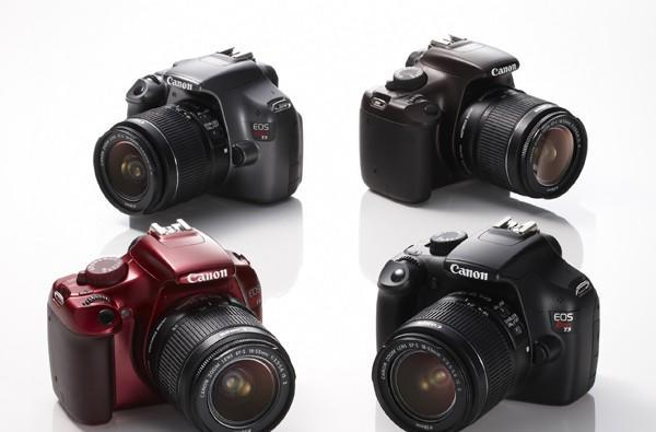 Canon takes a cue from Pentax, starts selling the T3 in assorted colors