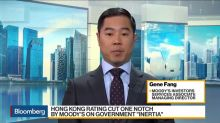 Hong Kong Credit Rating Cut One Notch by Moody's