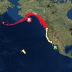 Tsunami alerts for U.S. and Canada downgraded after Alaska earthquake