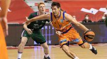 75-90. El Valencia Basket vence con autoridad al Unicaja en Murcia