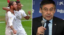"""VAR a favor do Real Madrid? """"Barcelona é que tem menos qualidade"""", diz Rivaldo"""