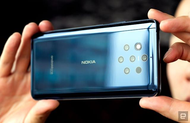 The five-camera Nokia 9 PureView hits the US March 3rd