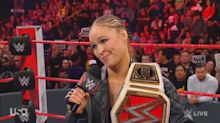 Ronda Rousey flustered by booing WWE 'Raw' crowd