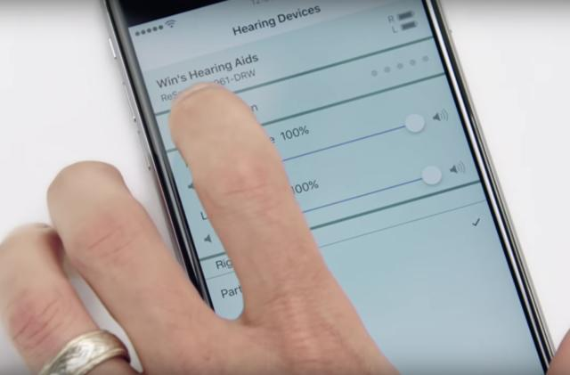 iOS 12 connects AirPods to Apple's built-in hearing aid app