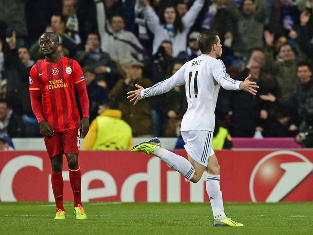 ► Gareth Bale tenta repetir gol memorável que fez na Champions League