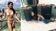 Nothing to declare? Thai Miss Universe takes 17 suitcases of clothes to beauty contest