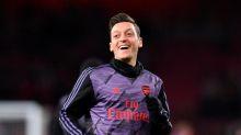 So freut sich Özil über Essens Pokal-Coup
