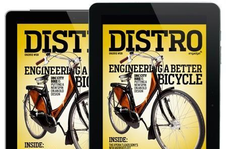 Distro Issue 59: Boston's DBC City Bike is putting a new spin on an old design