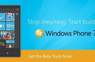 Microsoft's Windows Phone Developer Tools package goes to beta