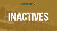 Jags release list of 6 inactive for Week 3 game vs. Dolphins