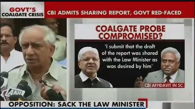 BJP reacts to CBI admitting it shared coal scam report with govt Part-3