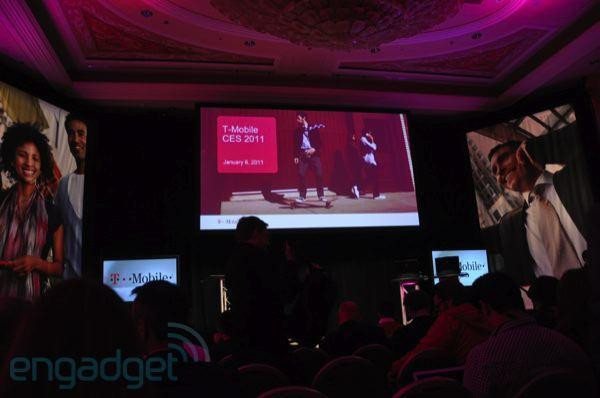 Live from T-Mobile's CES 2011 press event