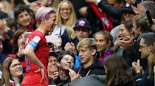 Even one USWNT star is surprised by how American fans have flooded France