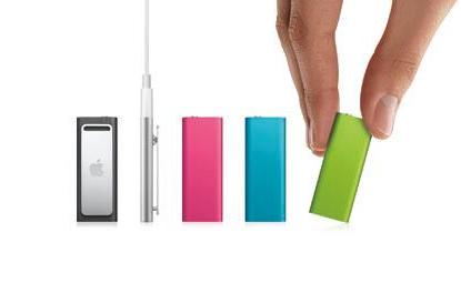 Apple introduces new iPod shuffle colors, adds a new $59 2GB model