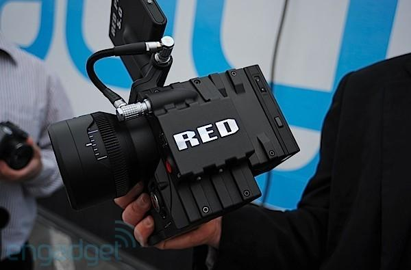 Working RED Scarlet appears at our trailer, we go hands-on! (video)