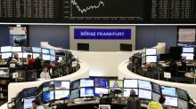 European shares rise for fifth day on banks boost