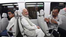 High fuel prices Modiji? Congress mocks PM after Metro ride