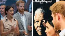 Duke and Duchess of Sussex celebrate Nelson Mandela's centenary at London exhibition