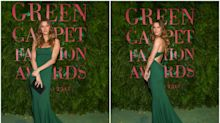Gisele Bündchen, protagonista de los Green Carpet Fashion Awards 2017
