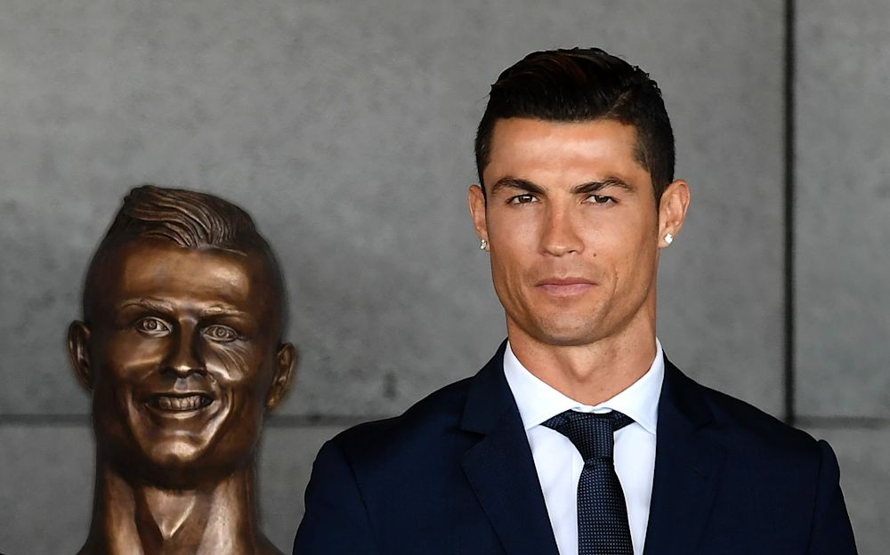Seeing double? No? Ronaldo's new likeness could be a lot more like him - AFP or licensors