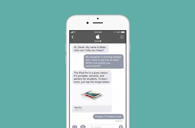 Apple Business Chat is now available in Europe, Asia and Australia