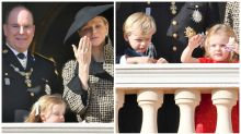 Adorable prince and princess cause a stir on royal balcony