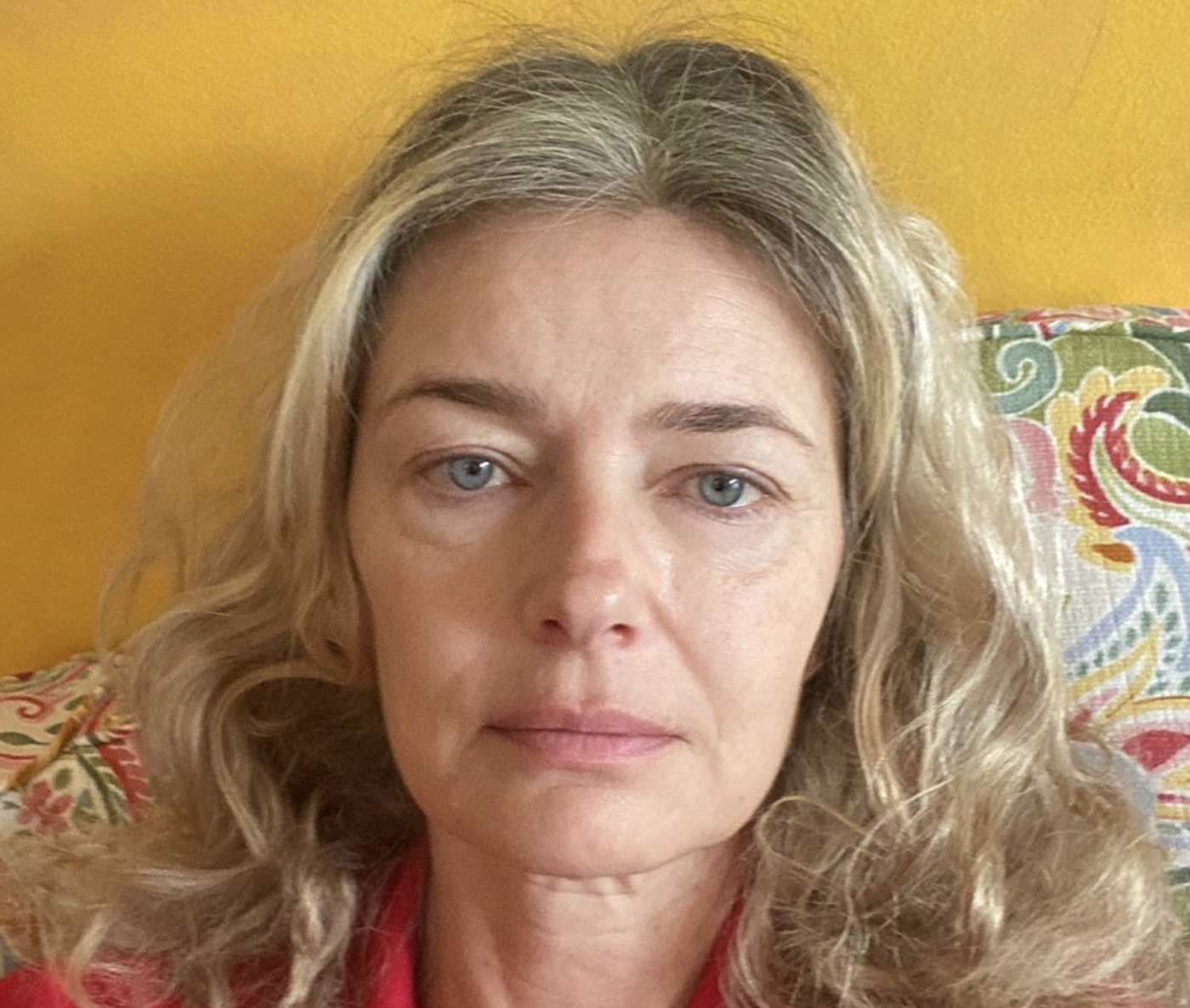 Paulina Porizkova shares unfiltered, makeup-free selfie: 'This is what I actually look like'