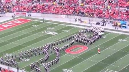 Ohio State Band's Brilliant Tribute to Michael Jackson