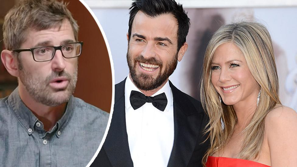 Louis Theroux shares candid reaction to Justin Theroux and Jennifer Aniston